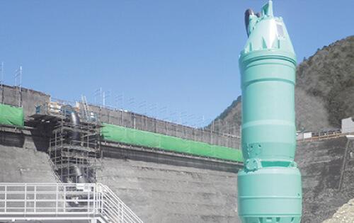 水中タービン発電機