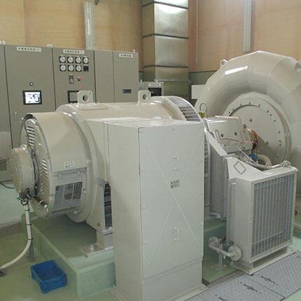 誘導発電機