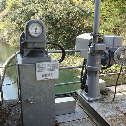 ダムゲート開度計(ED型)